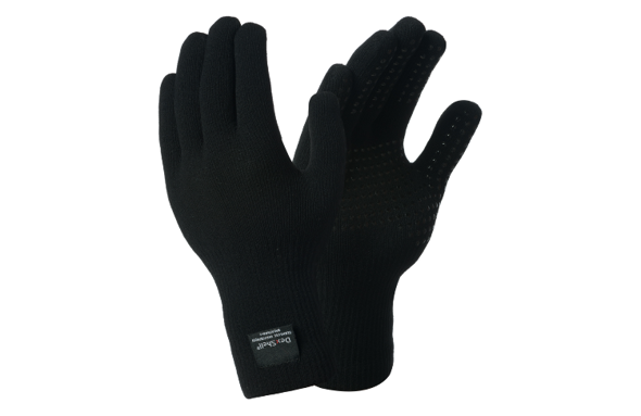 DEXSHELL THERMFIT GLOVES czarne