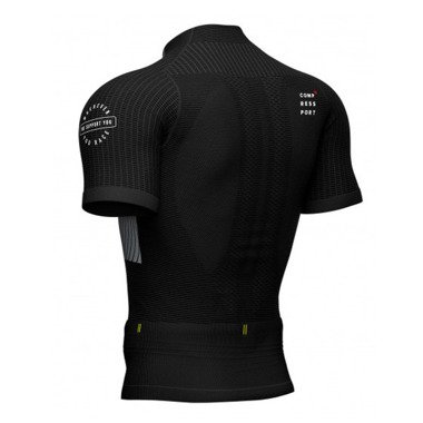 COMPRESSPORT TRAIL RUNNING POSTURAL SS TOP SS20 czarna